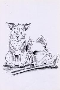 un disegno di Maria matthews